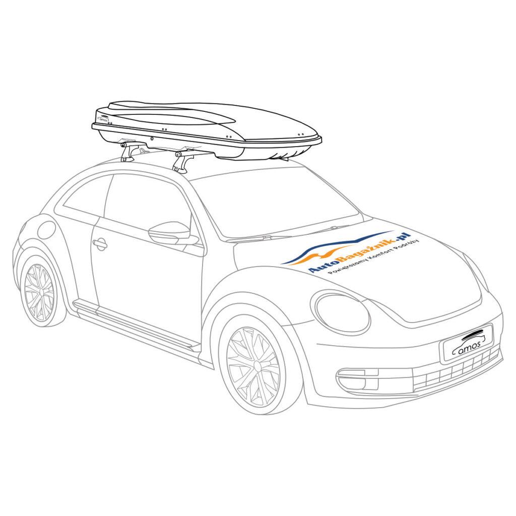 Łapa bagażnika dachowego, element dostępny na stronie autobagaznik.pl