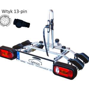 bagażnik Tytan do przewozu 2 rowerów dostępny na stronie